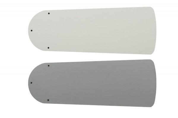 Flügelsatz FLAT 103-III Lack weiß/lichtgrau