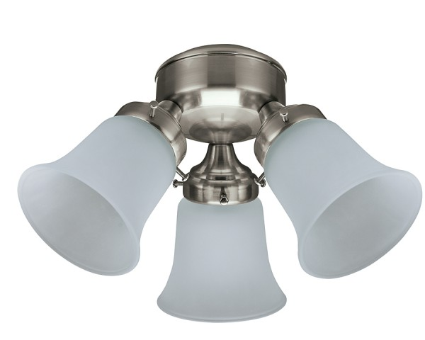 3 Light Flush Mount BN