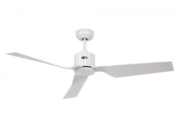 CasaFan Deckenventilator ECO DYNAMIX WE-WE - Gehäuse Lack weiß - Flügel Lack weiß - Ø 132 cm - mit Fernbedienung - energiesparend