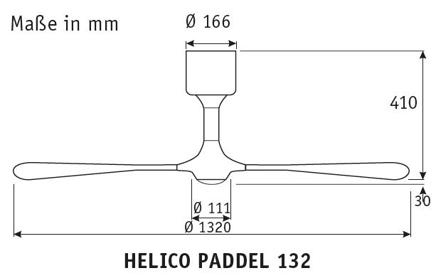 Masse-Helico-Paddel