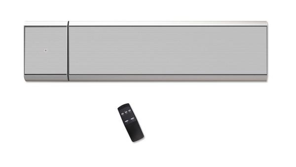 CasaTherm Heatpanel 1500W PLUS/D Silbergrau