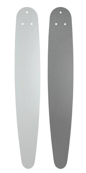 Flügel Royal Weiß/Lichtgrau 5 x 180 cm
