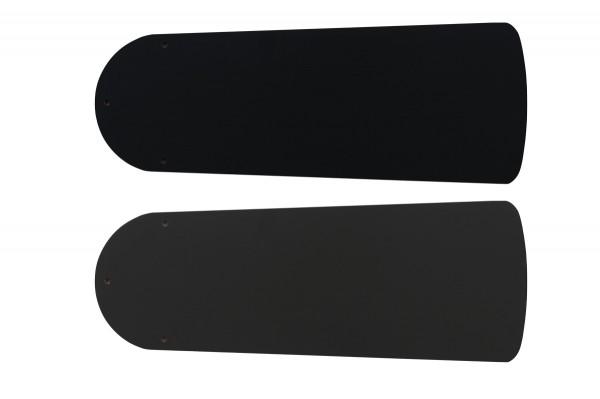 Flügelsatz FLAT 103-III Lack schwarz/graphit