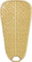 Flügelsatz Bambus natur Paddel 132