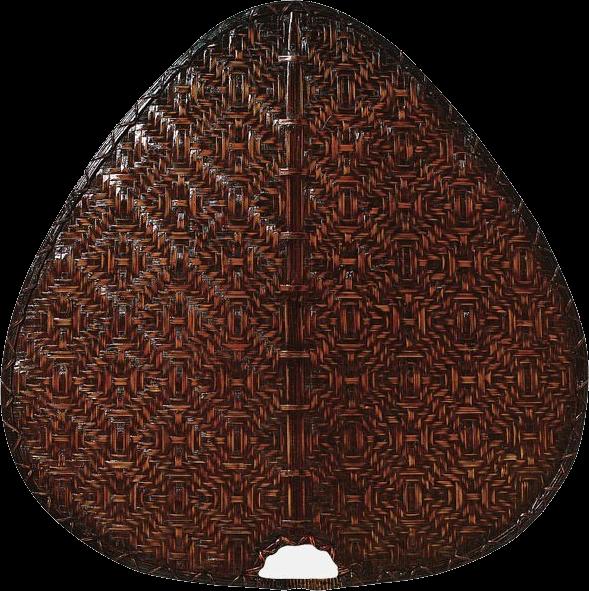 Flügelsatz Bambus antik Ø 111