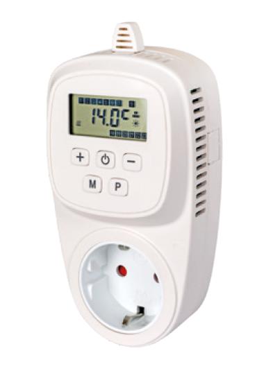 XTS16 Chronothermostat Schukostecker