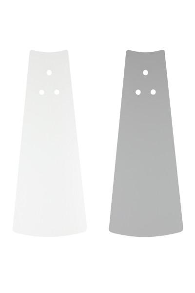 Flügel Weiß/Lichtgrau 92