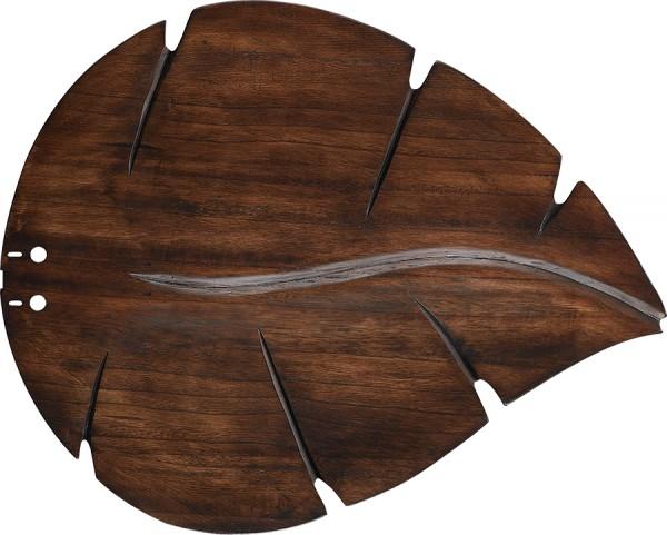 Flügelsatz Nussbaum Blattform 132