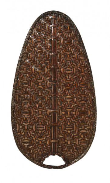 Flügelsatz Bambus antik oval 132