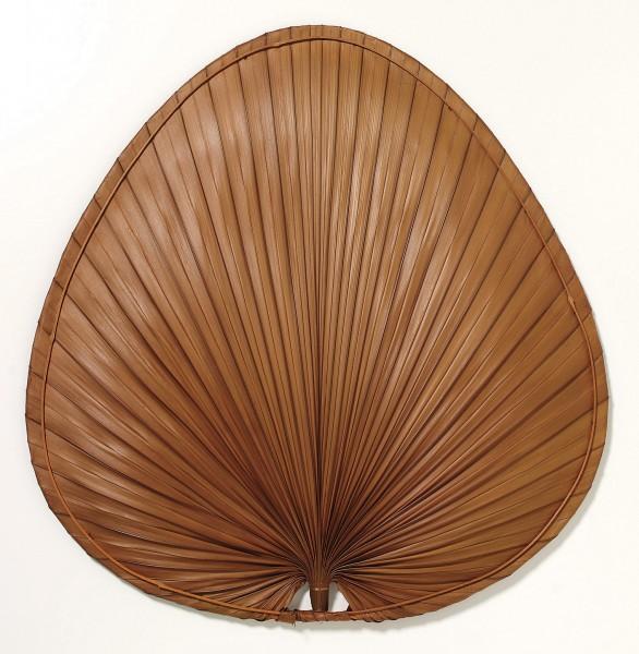 Flügelsatz Palme rotbraun Ø 132