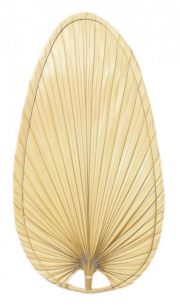 Flügelsatz Palme natur oval 132
